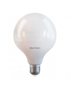 Светодиодная лампа E27 15W 4000К белый Globe Voltega