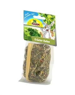 Лакомство для грызунов Травяной тюк 60 г Jr farm
