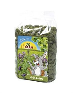 Лакомство Зеленые колечки для грызунов 500 г Jr farm