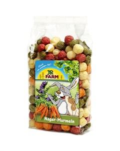 Лакомство для грызунов Шарики из овощей и люцерны 70 г Jr farm