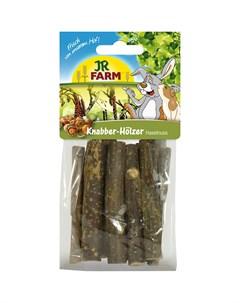 Лакомство для грызунов Палочки из лесного ореха 40 г Jr farm