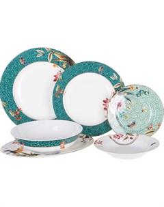 Сервиз столовый Pipart 21 предмет Macbeth bone porcelain
