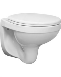 Унитаз подвесной Альфа Стандарт с сиденьем белый 1 3255 9 S00 00B 0 Santeri