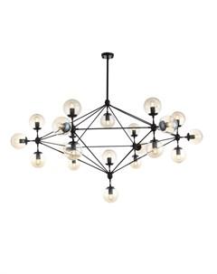 Светильник подвесной lacotta черный 130 см St-luce