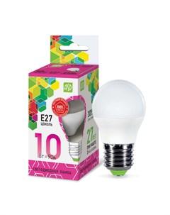 Лампа светодиодная LED ШАР standard 10Вт 230В E27 6500К 900Лм 4690612015491 Asd