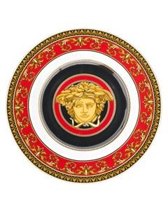 Круглая тарелка Medusa 18 5 см Versace