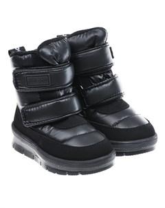 Черные мембранные сапоги для мальчиков детские Jog dog
