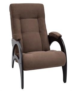 Кресло для отдыха Модель 41 венге без лозы ткань Verona Brown Leset