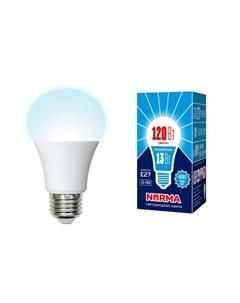 Светодиодная лампа E27 13W 4000K белый свет Norma Volpe