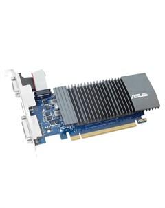 Видеокарта GeForce GT 710 954Mhz PCI E 2 0 1024Mb 5012Mhz 32 bit DVI HDMI HDCP GT710 SL 1GD5 Asus