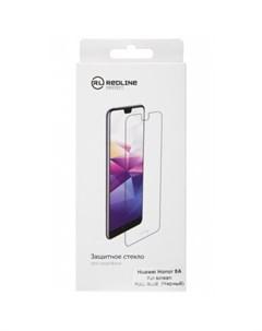 Защитное стекло Huawei Honor 8A чёрный Red line