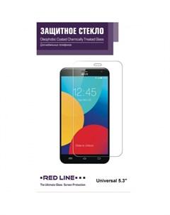 Защитное стекло 5 3 универсальное Red line