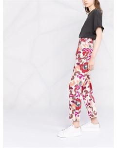 Прямые брюки с цветочным принтом Blazé milano