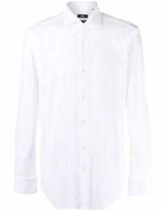 Рубашка со срезанным воротником Boss hugo boss