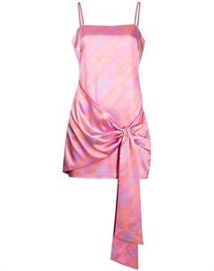 Платье Emile с драпировкой и узором Likely