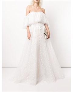 Свадебное платье Sabriel с открытыми плечами Tadashi shoji