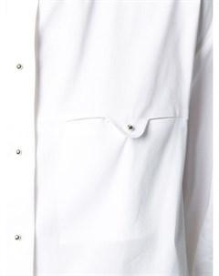 Рубашка с круглым вырезом и драпировкой Esteban cortazar