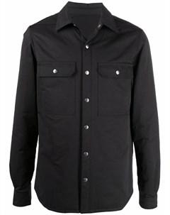 Куртка рубашка на пуговицах Rick owens