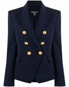 Пиджак с тиснением на пуговицах Balmain