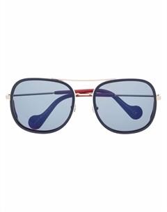 Солнцезащитные очки в круглой оправе Moncler eyewear