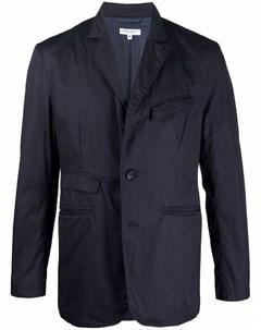 Легкий пиджак с жатым эффектом Engineered garments