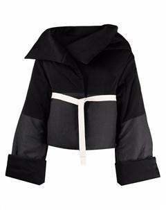 Укороченное пальто оверсайз с поясом Eudon choi