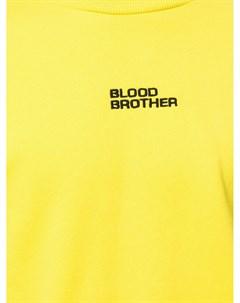Толстовка с логотипом Blood brother