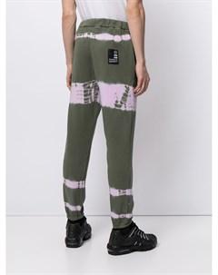Спортивные брюки с принтом тай дай Blood brother