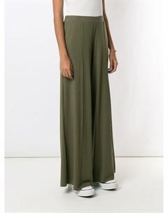 Расклешенные брюки со складками Lygia & nanny