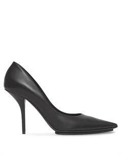 Туфли с заостренным носком и люверсами Burberry
