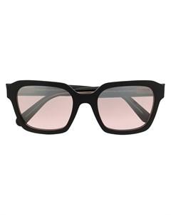 Солнцезащитные очки в геометричной оправе Moncler eyewear