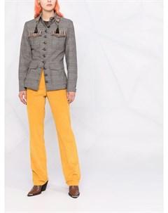 Пиджак с кисточками на воротнике Etro