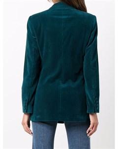 Приталенный вельветовый пиджак Etro