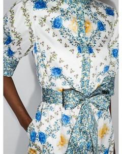Платье миди Marni с цветочным принтом Borgo de nor