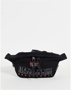 Черная сумка кошелек на пояс Hering WB 2 Napapijri