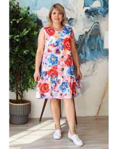 Платье трикотажное Пастель Инсантрик