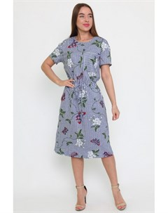 Платье трикотажное Фатима полоса Инсантрик