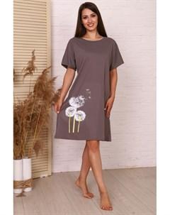Платье трикотажное Алсу серое Инсантрик