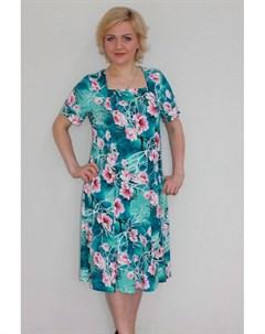 Платье трикотажное Меик от Инсантрик