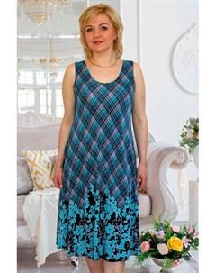 Платье трикотажное Либби клетка от Инсантрик