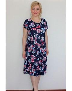 Платье трикотажное Кордула от Инсантрик
