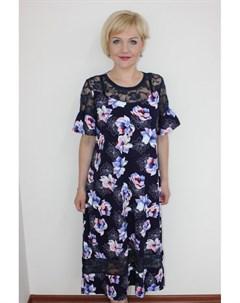 Платье трикотажное Вэлла от Инсантрик