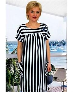 Платье вискозное Раяс полоска от Инсантрик