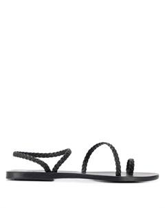 Сандалии Eleftheria с ремешками Ancient greek sandals