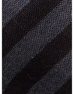 Полосатый галстук с заостренным концом Canali