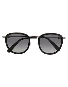 Солнцезащитные очки в массивной оправе Moncler eyewear