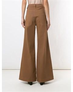 Широкие джинсы с завышенной талией Andrea bogosian