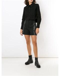 Укороченная джинсовая куртка Andrea bogosian