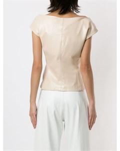 Блузка Venus с короткими рукавами Andrea bogosian