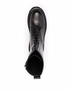 Ботинки в стиле милитари Casadei